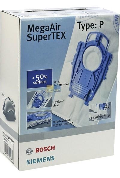 Bosch - Siemens P Tipi Süpürge Torbası Paketli Ürün