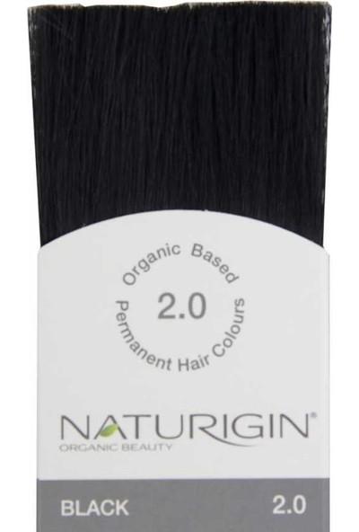 Naturigin Organik İçerikli Saç Boyası 2.0 Siyah