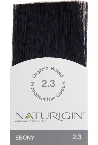 Naturigin Organik İçerikli Saç Boyası 2.3 Abanoz