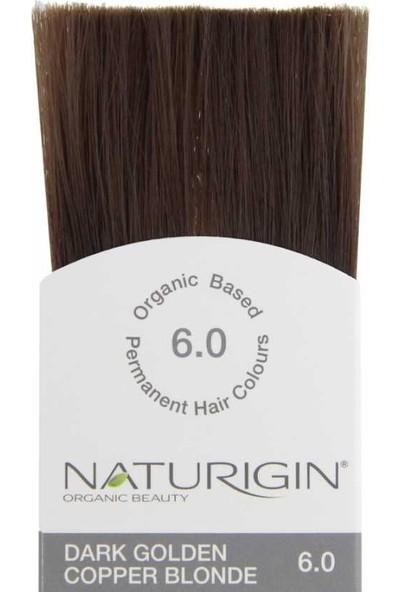 Naturigin Organik İçerikli Saç Boyası 6.0 Koyu Altın Bakır Kumral