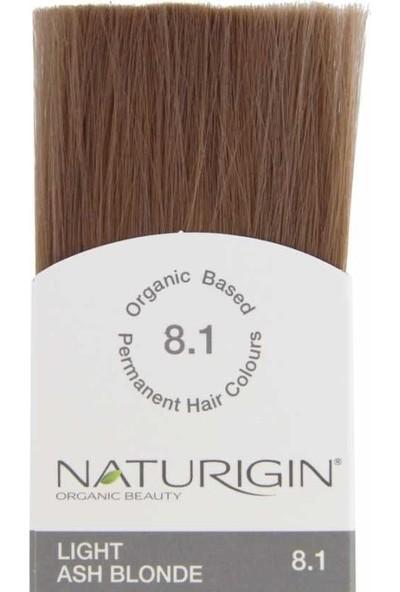 Naturigin Organik İçerikli Saç Boyası 8.1 Açık Kül Sarısı