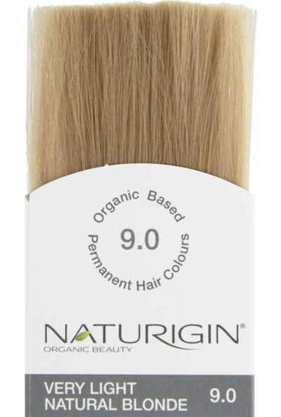 Naturigin Organik İçerikli Saç Boyası 9.0 Çok Yumuşak Doğal Sarı