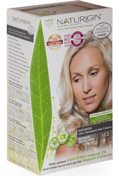 Naturigin Organik İçerikli Saç Boyası 11.2 Yoğun Küllü Sarı