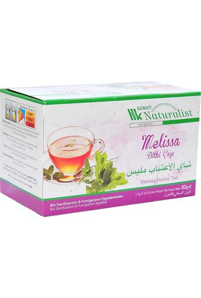 Günvit Naturalist Melisa Bitki Çayı 20 Süzen Pşt