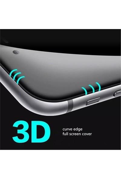 Bestsuit iPhone 6/6S Curved 3D Full Fit Ekran Koruyucu-Beyaz