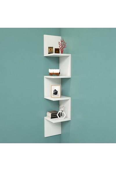 Yurudesign Shelf R9 Modern Duvar Rafı Kitaplık