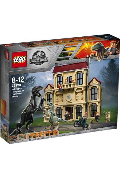 LEGO Jurassic World 75930 Lockwood Estate'te Indoraptor Hücumu