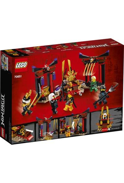LEGO Ninjago 70651 Taht Odası Karşılaşması
