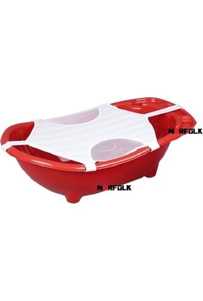 Muju muju Baby Shower Bebek Banyo Küveti - Kırmızı