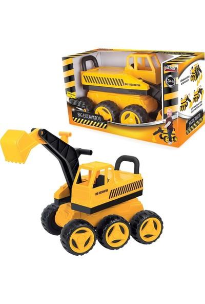 Pilsan Big Excavator 06-207 Büyük Kepçe Oyuncak iş Makinası