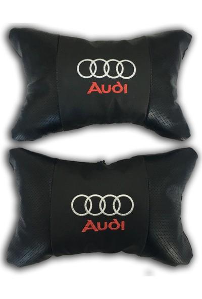 Günsan Audi Deri Boyun Yastığı Papyon Model 2'li