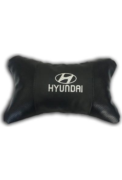 Günsan Hyundai Deri Boyun Yastığı Ortopedik Papyon Model 2'li