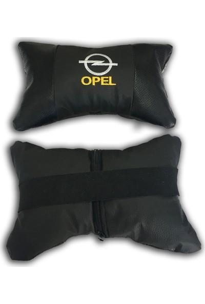 Günsan Opel Deri Boyun Yastığı Ortopedik Papyon Model 2'li