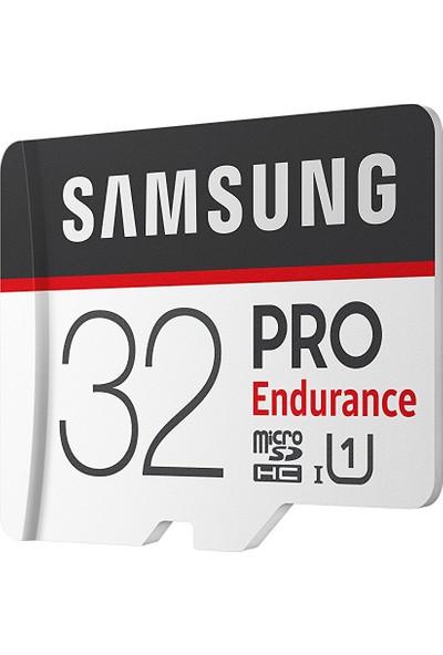 Samsung PRO Endurance 32GB 100 MB/s microSDHC Kart (SD Adaptor) MB-MJ32GA/EU