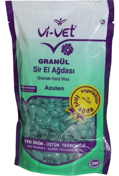 Boncuk Ağda Granüllü El Ağdası İnci Ağda Spatula Uygulama Seti Hediyeli (Azulen)