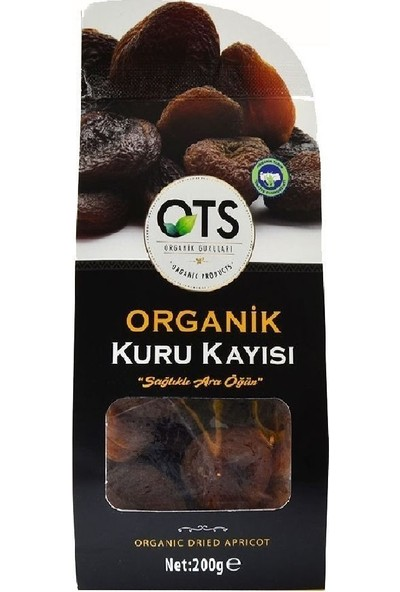 Ots Organik Organik Kuru Kayısı 200 Gr