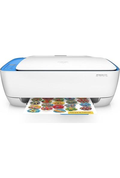 HP DeskJet 3639 Fotokopi + Tarayıcı + Mürekkep Püskürtmeli Wi-Fi + Airprint Yazıcı F5S43B
