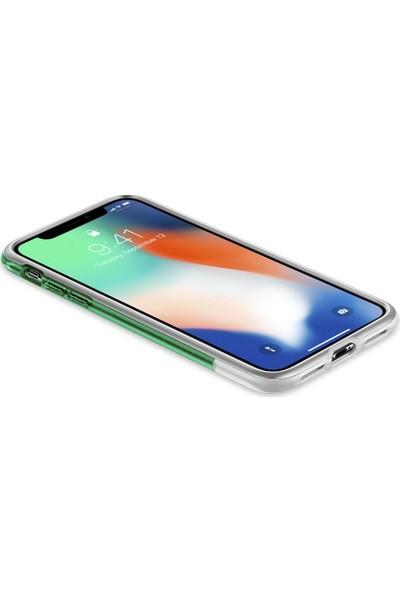 Spigen Apple iPhone XS / iPhone X Kılıf Classic C1 (10.Yıl Özel) Sage - 057CS23196