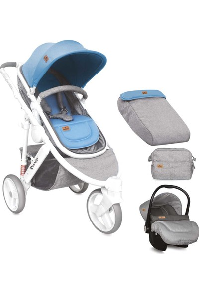 Lorelli Calibra Travel Sistem Bebek Arabası Grey & Blue