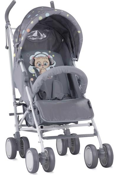 Lorelli İda Baston Bebek Arabası Grey Cute Kitten