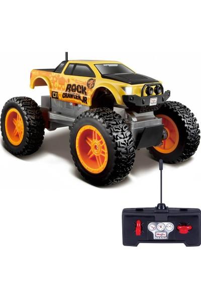 Maisto Tech Rock Crawler Junior Uzaktan Kumandalı Araba Araba Sarı