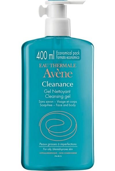 Avene Cleanance Gel Nettoyant - Yağlı Ciltler için Temizleyici 400 ml