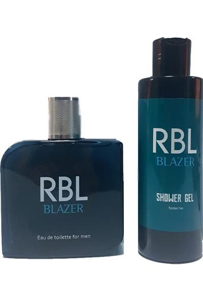 Rebul Blazer 90 ml Parfüm + 200 ml Duş Jeli Seti Rbl Blazer
