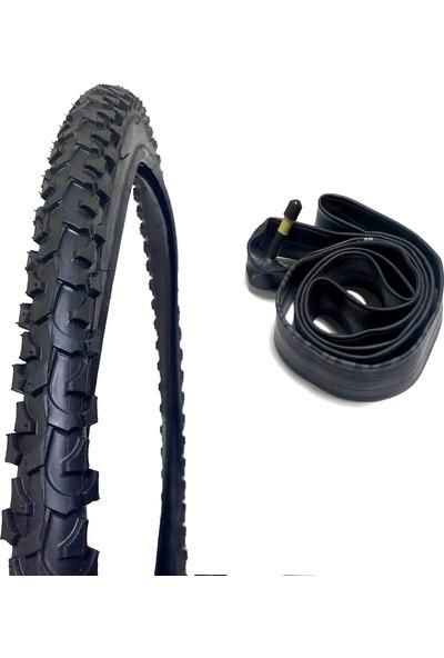 Knt Bisiklet 26 x 1.95 Dış Lastik ve İç Lastik Seti