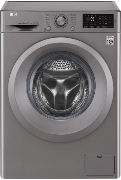 LG F2J5TNP7S A+++ 8 kg 1200 Devir Çamaşır Makinesi
