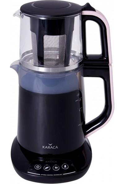 Karaca Demfit 2501 Sesli Çay Makinesi Pink Gold