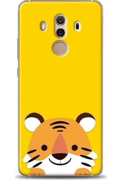 Eiroo Huawei Mate 10 Pro Kaplan Desen Baskılı Tasarım Kılıf