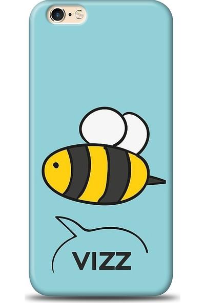 Eiroo iPhone 6/6S Arı Desen Baskılı Tasarım Kılıf