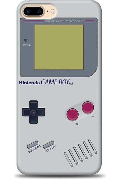 Eiroo iPhone 8 Plus Game Boy Desen Baskılı Tasarım Kılıf