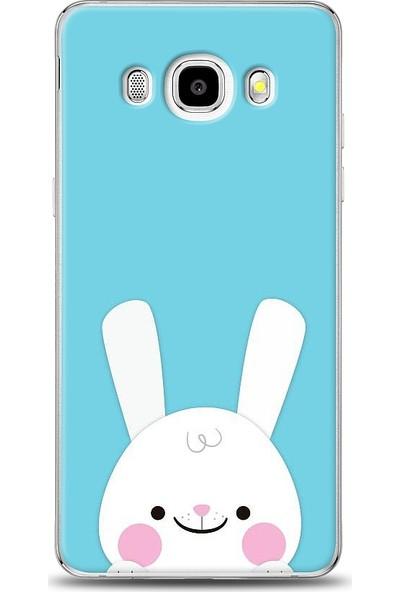 Eiroo Samsung Galaxy J7 2016 Tavşanlı Desen Baskılı Tasarım Kılıf