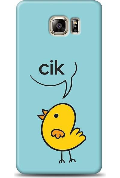 Eiroo Samsung Galaxy Note 5 Kuş Desen Baskılı Tasarım Kılıf