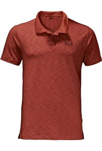 Jack Wolfskin Travel Polo Men Erkek T-Shirt 1804542-3470