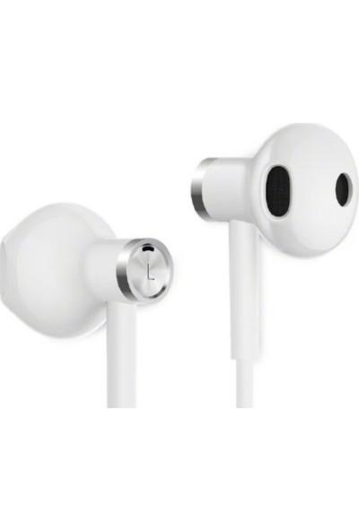 Xiaomi Yarım Kulak İçi Çift Sürücülü Stereo Mikrofonlu Kulaklık - Beyaz