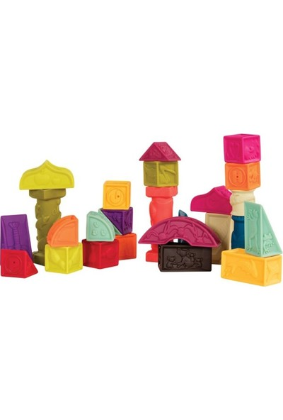 BToys Yumuşak Mimari Bloklar