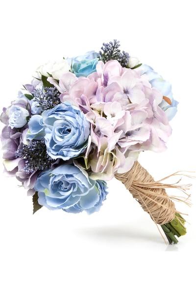 Elit Mavi & Lila El Çiçeği
