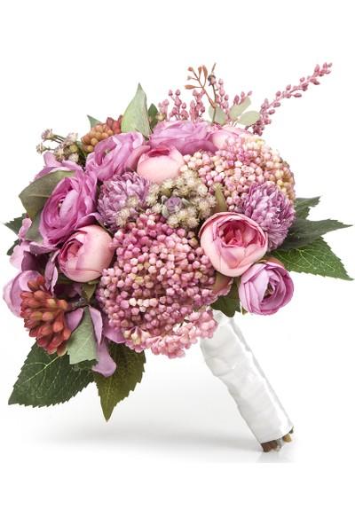 Elit Pembe Erengüller El Çiçeği