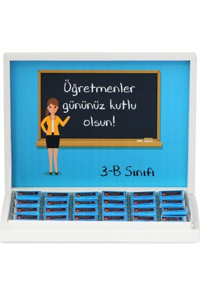 Elit Kadın Öğretmen İçin Öğretmenler Günü Çikolatası