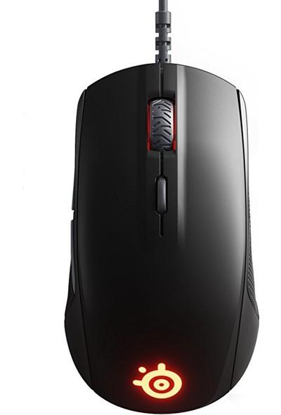 SteelSeries Rival 110 RGB Oyuncu Mouse + SteelSeries QcK (Medium) Mouse Pad