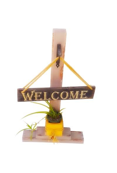 Larya Design Dekoratif Hoşgeldiniz Sütunu Welcome