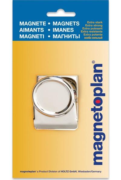 Magnetoplan Klips Mıknatıs 50 mm Gümüş - 1 Adet
