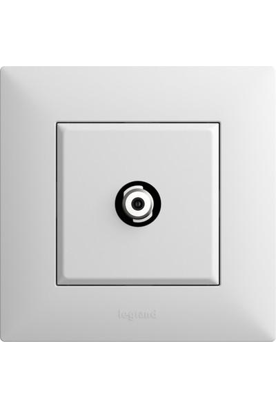 Legrand Raventi ( Beyaz ) Uydu Prizi F Konnektörlü