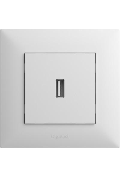Legrand Raventi ( Beyaz ) USB Priz