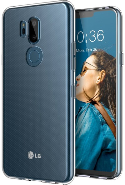 Microsonic LG G7 Kılıf Transparent Soft