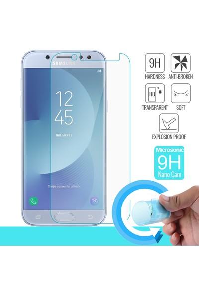 Microsonic Samsung Galaxy J7 Pro Nano Cam Ekran Koruyucu Kırılmaz Film