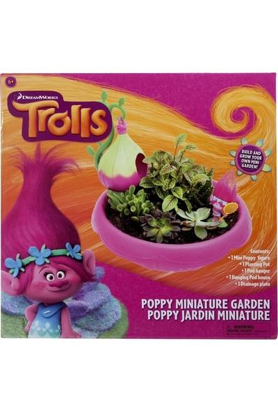 Ultimate Source Trolls Poppy Minyatür Bahçe