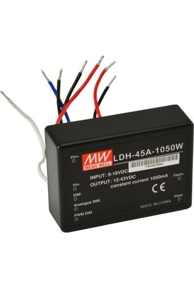Meanwell LDH 45A 1050W 1050 mA 45W Adaptör